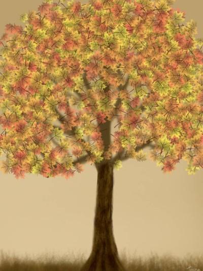 Autumn    Tonda   Digital Drawing   PENUP