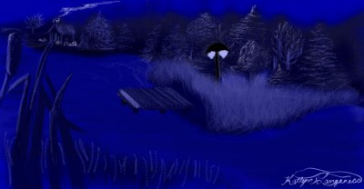 By the Light of the  Moon | _Katlyn_L | Digital Drawing | PENUP