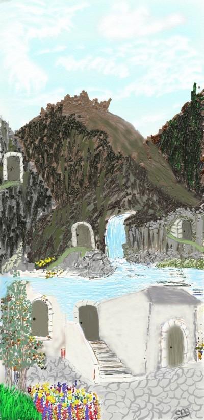 Doors  | ChrisPBacon | Digital Drawing | PENUP