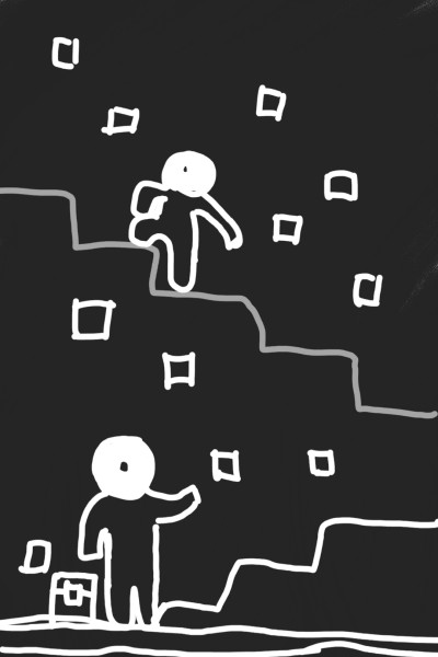 어리석은 1,현명한 2/Stupid 1, wise 2 | chanseo1018 | Digital Drawing | PENUP