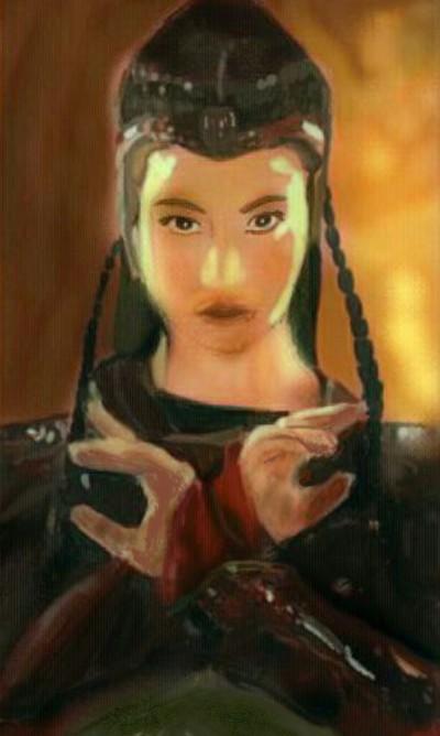 Flame Princess  (Original Version)  | Choloaldon | Digital Drawing | PENUP