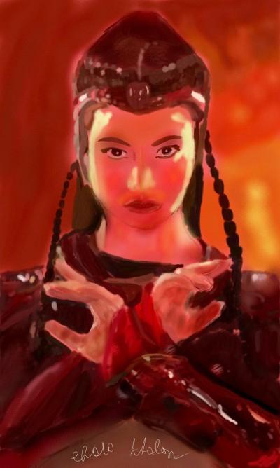 Flame Princess (Fiery Version) | Choloaldon | Digital Drawing | PENUP