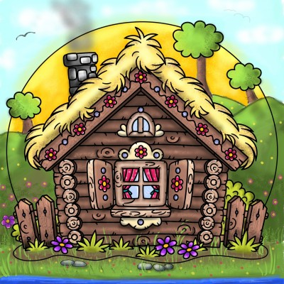 Dream cabin ❤️ | Stace | Digital Drawing | PENUP