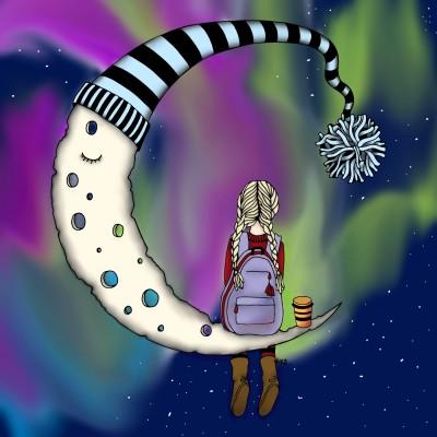 best view of aurora borealis    G-Ranny2   Digital Drawing   PENUP