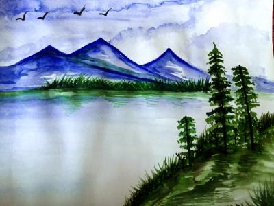 landscape | dwitipriya | Digital Drawing | PENUP