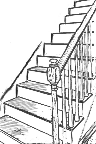 Good enough first post - Stairs | Kelly_Artist | Digital Drawing | PENUP
