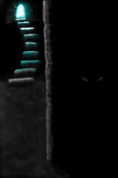 descending unto darkness... | MartinG.H. | Digital Drawing | PENUP