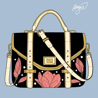 hand bag   ONP   Digital Drawing   PENUP