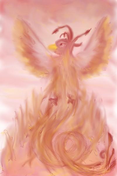 Phoenix 2 | Rhonda | Digital Drawing | PENUP