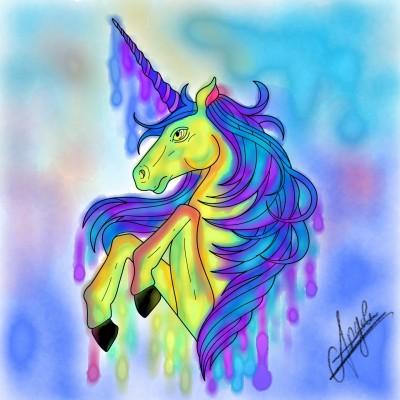 unicorn | AngelaPezzotti | Digital Drawing | PENUP