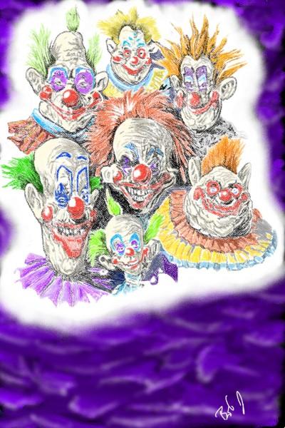 killer klowns    nyyankeehitman   Digital Drawing   PENUP