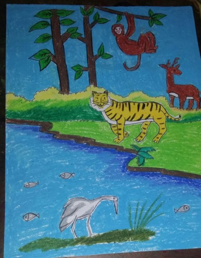 scenery  | dwitipriya | Digital Drawing | PENUP