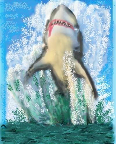 killer wave  | AZR | Digital Drawing | PENUP