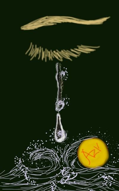 ocean of tears waves  | AZR | Digital Drawing | PENUP