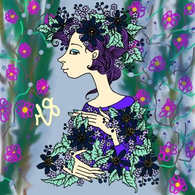 Coloring Digital Drawing | yuliiB | PENUP