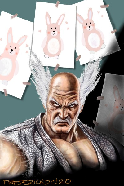 Heihachi Mishima (Live Drawing #22) | FREDERICKDC | Digital Drawing | PENUP