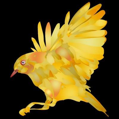 YELLOW BIRD  | Tobie.ISR | Digital Drawing | PENUP