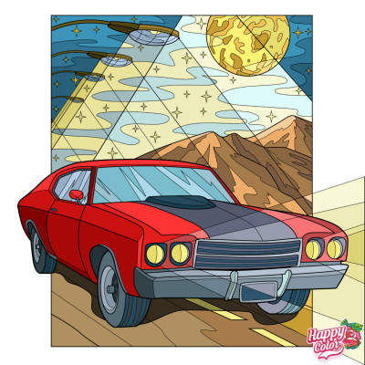 Vehicles Digital Drawing | con | PENUP