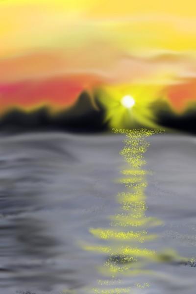 Ocean | val | Digital Drawing | PENUP