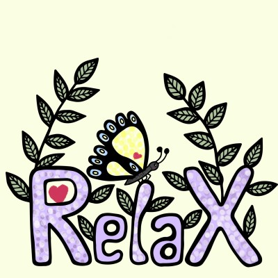 Relax | Trish | Digital Drawing | PENUP