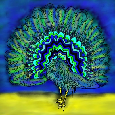 Peacock? | lisa | Digital Drawing | PENUP