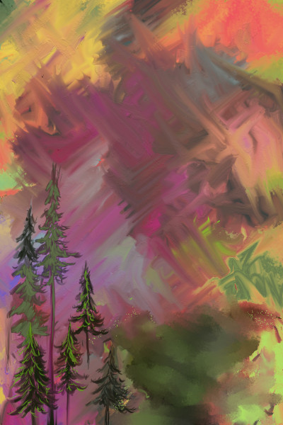 Colorful brush strokes | AntoineKhanji | Digital Drawing | PENUP