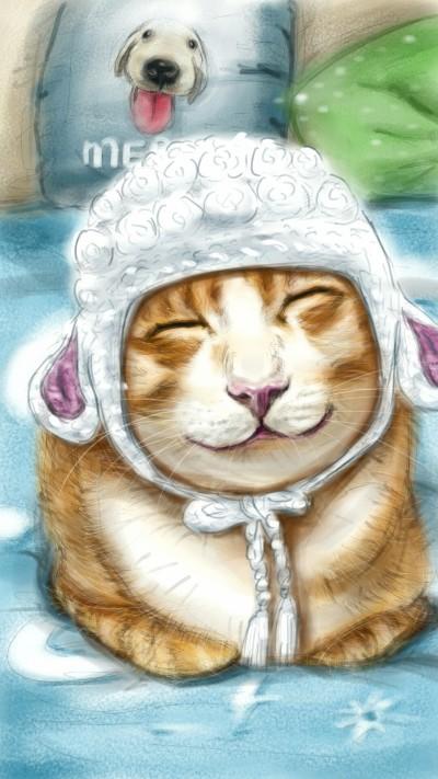 lamb-bly cat ~^^ | akira | Digital Drawing | PENUP