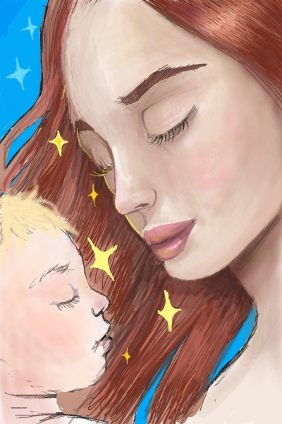 mother and child | chito_gvrito | Digital Drawing | PENUP
