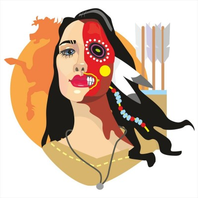 Native American | chito_gvrito | Digital Drawing | PENUP