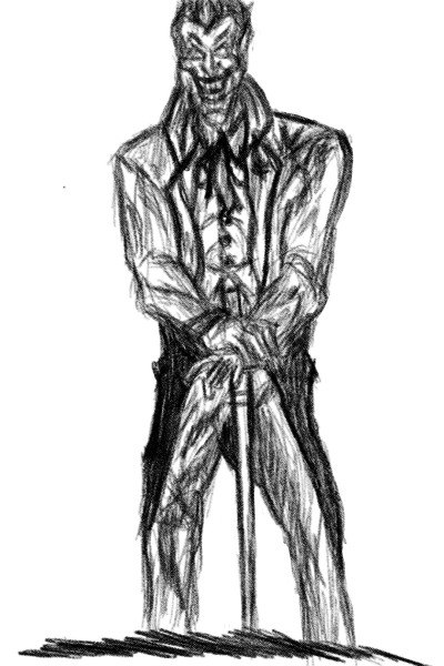 Joker | BeardedRussian | Digital Drawing | PENUP