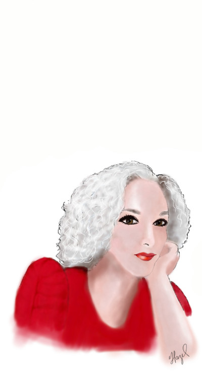 Autorretrato  | Hazeleszu | Digital Drawing | PENUP