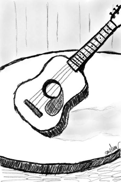 guitar | GoodForLife | Digital Drawing | PENUP