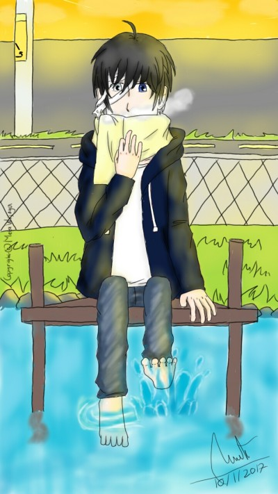 Otonashi Kanade | Meta_Wijaya | Digital Drawing | PENUP