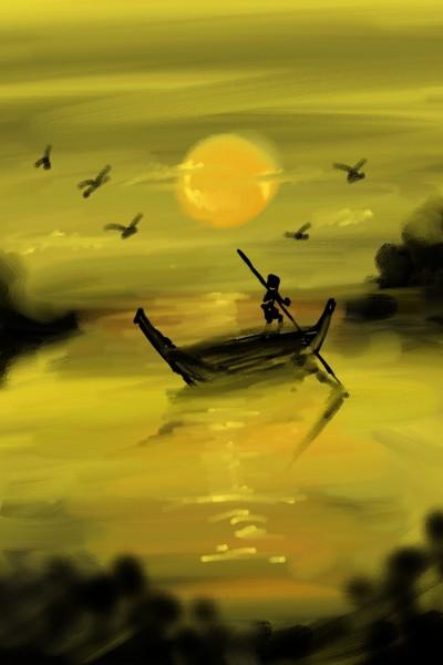 sunset | beechumode | Digital Drawing | PENUP