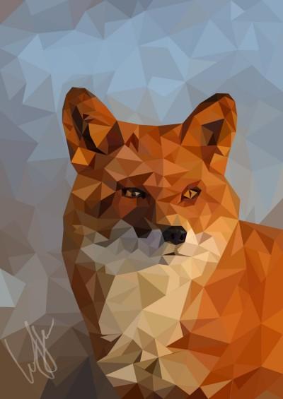 Зимняя лисичка. | Lely | Digital Drawing | PENUP