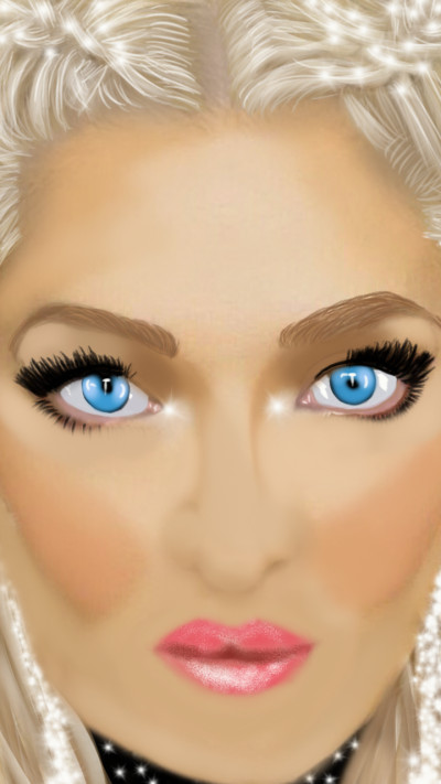 Blue eyes    4the_birds.   Digital Drawing   PENUP