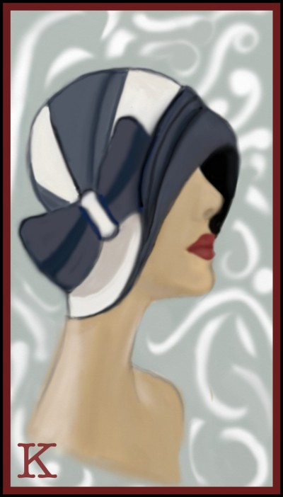 Fashion 40s Hat by K.E. R reference used. | katherineeroach | Digital Drawing | PENUP
