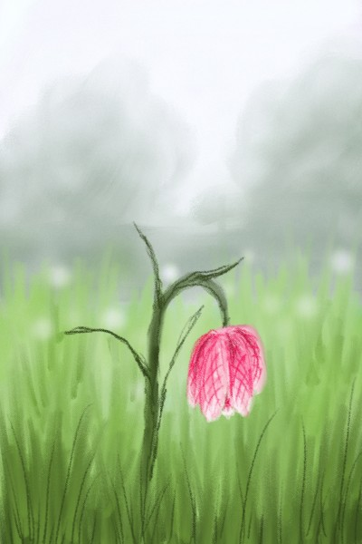 field in the morning | Damirijana | Digital Drawing | PENUP