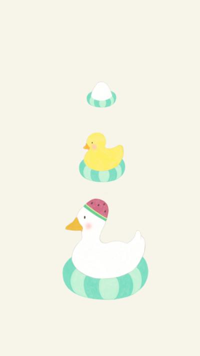 Floting duck   greeda   Digital Drawing   PENUP