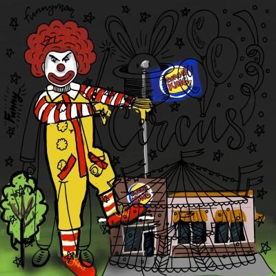 Evil Ronald   kelzwurld   Digital Drawing   PENUP