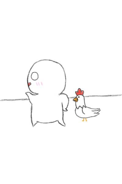 꼬꼬와 동글이   toto   Digital Drawing   PENUP
