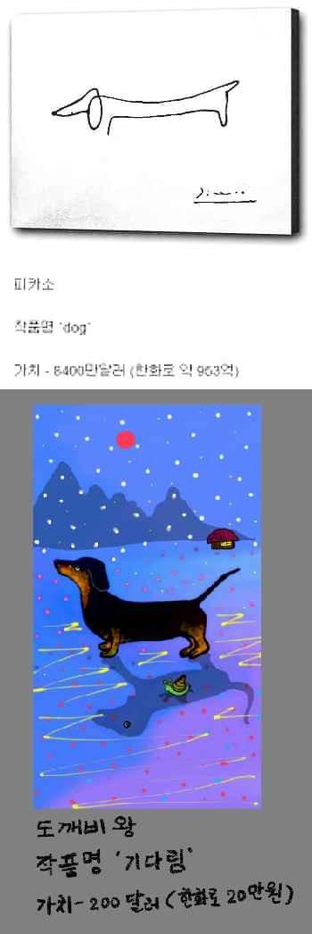 피카소가 내게  말했다  . . . 넌 강쥐(dog)를 너무 못그려.   qweensara   Digital Drawing   PENUP