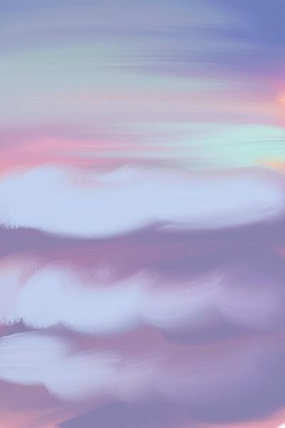Sea and sky | saveme | Digital Drawing | PENUP