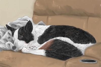 Sleepy Girl   shadowmare72   Digital Drawing   PENUP
