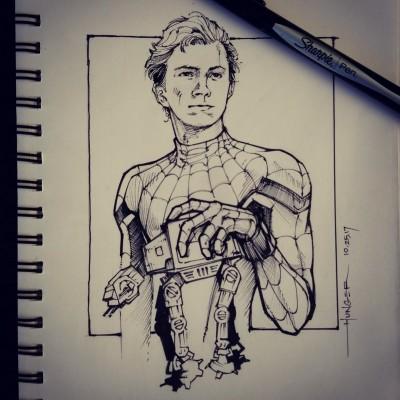 Spider-Man Homecoming | Hunger_art | Digital Drawing | PENUP