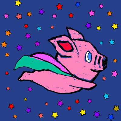 When Pigs Fly So Will I | Anevans2 | Digital Drawing | PENUP