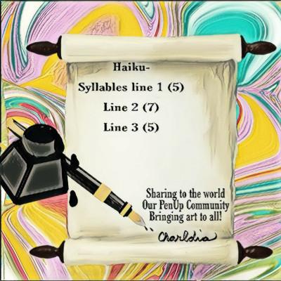 Inked Haiku | Charldia | Digital Drawing | PENUP