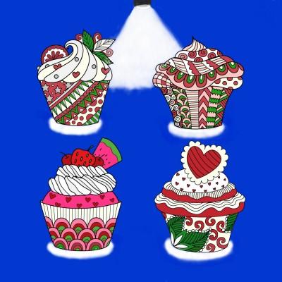 Heavenly Cupcakes | Trish | Digital Drawing | PENUP