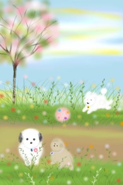 10. 봄나드리 Spring outing | youngsook | Digital Drawing | PENUP