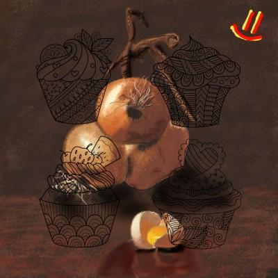 Репчатый лук и яйцо))))  | GaRiSOn1568 | Digital Drawing | PENUP